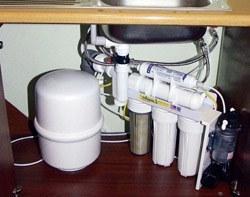 Установка фильтра очистки воды в Краснокамске, подключение фильтра очистки воды в г.Краснокамск
